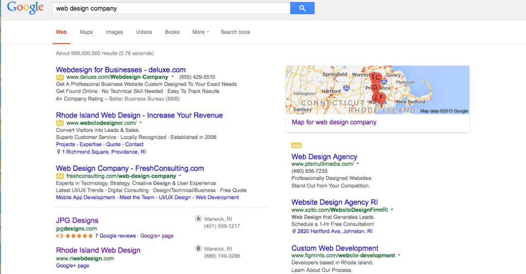 local web design company